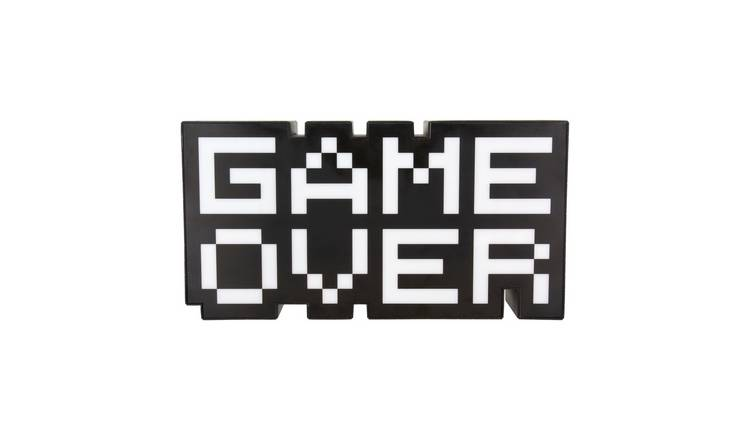 USB Game Over Neon Light