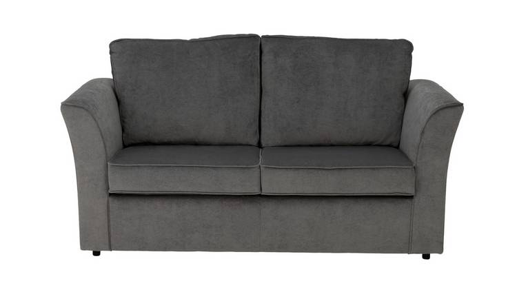 Habitat Paxton 2 Seater Fabric Sofa Bed - Grey