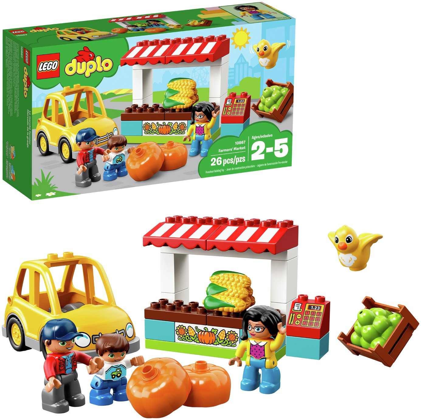 Buy LEGO DUPLO Farmers Market Playset -10867 at Argos.co.uk - Your ...