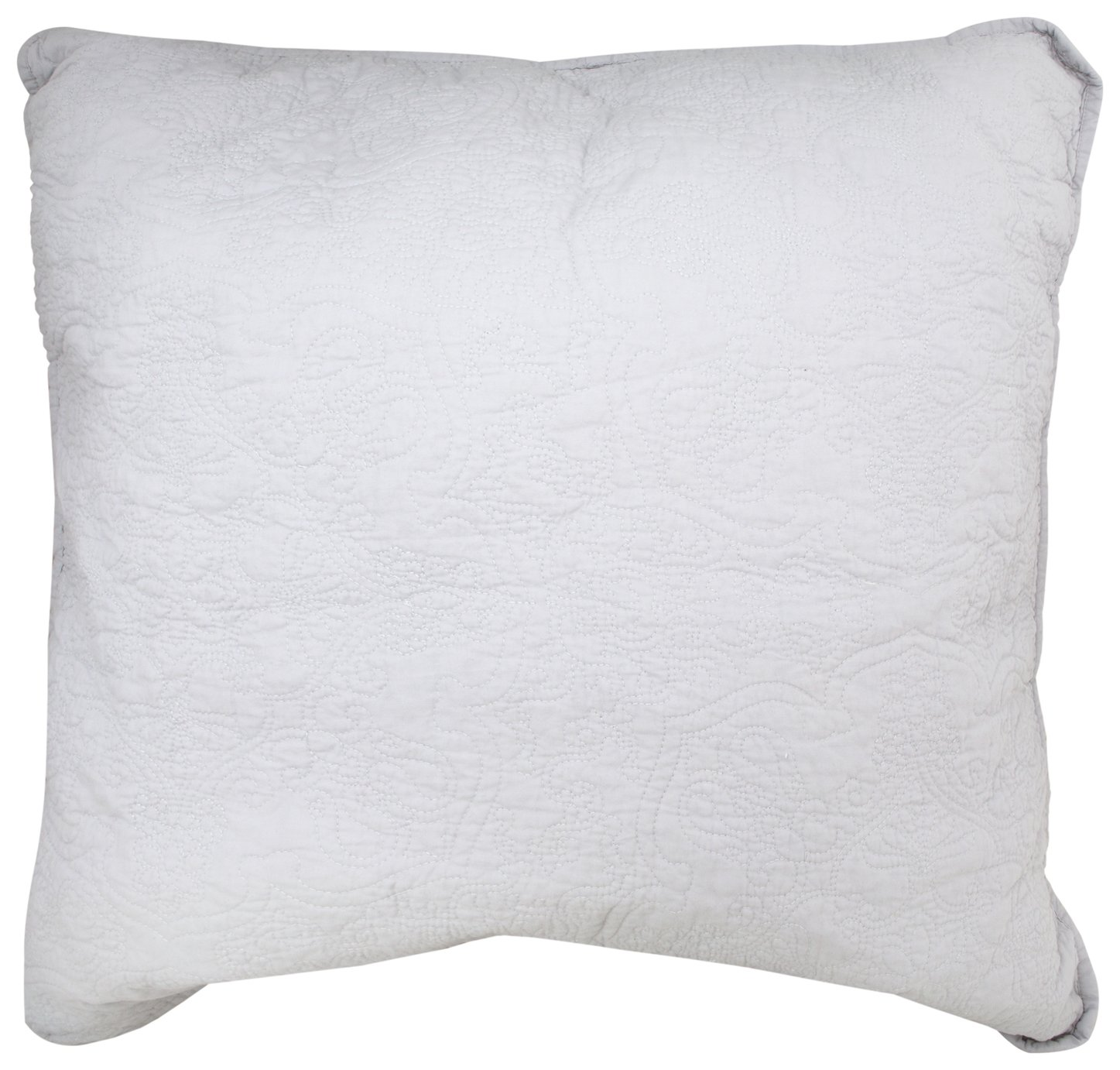 Sainsbury's Home Parisian Maison Quilted Pillow - Grey