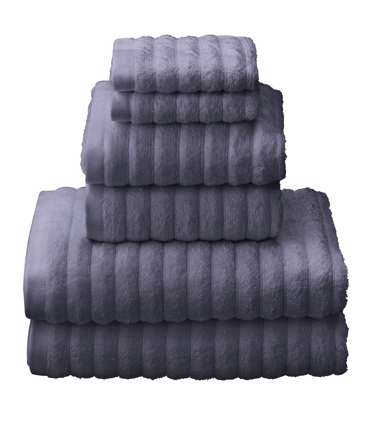 Argos Home Quick Dry 6 Piece Towel Bale - True Blue