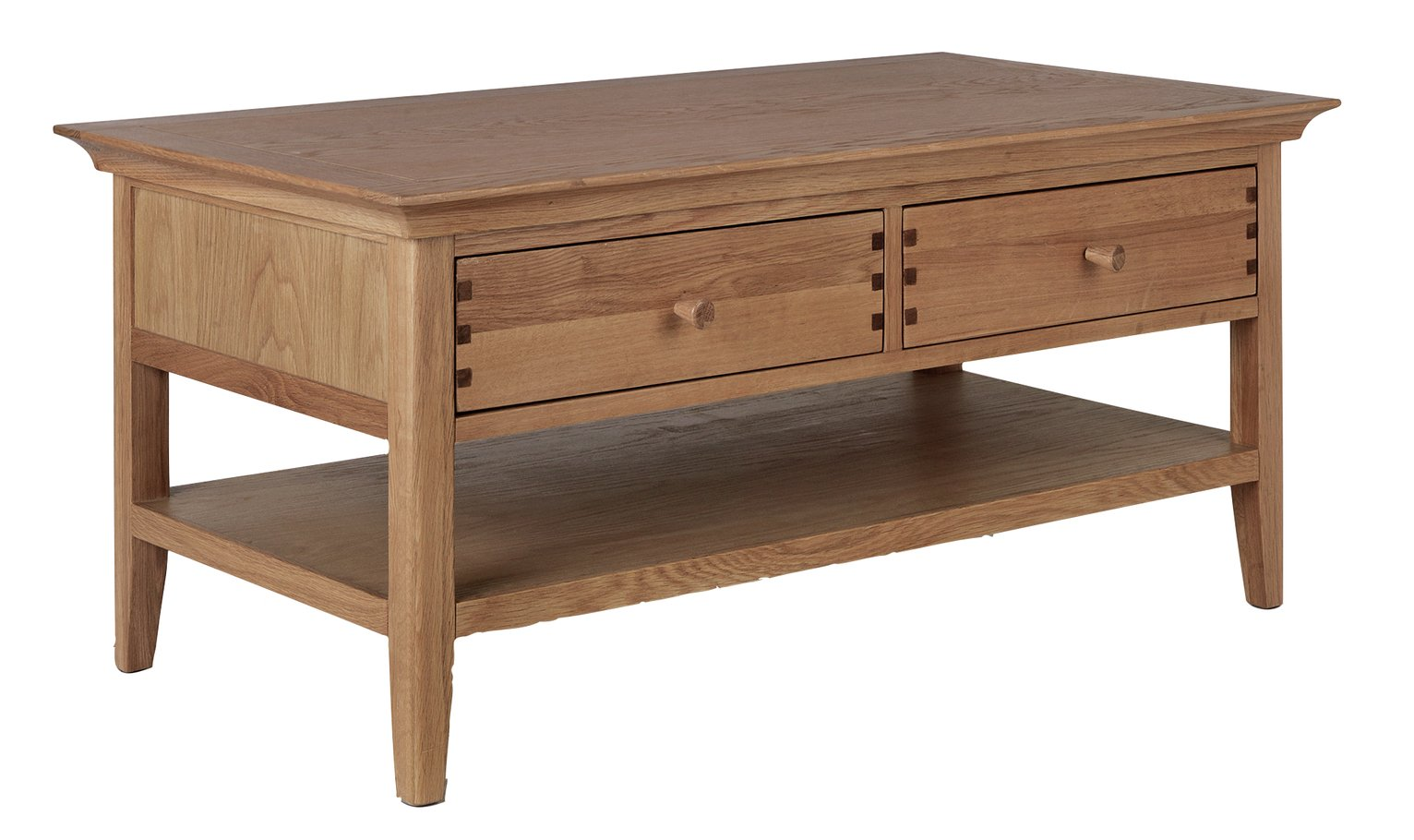 Argos Home Pembridge 2 Drawer Solid Wood Coffee Table