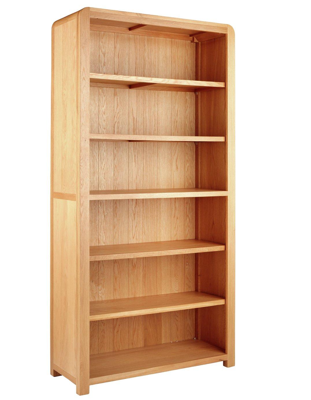 Argos Home Novara 5 Shelf Tall Oak Veneer Bookcase