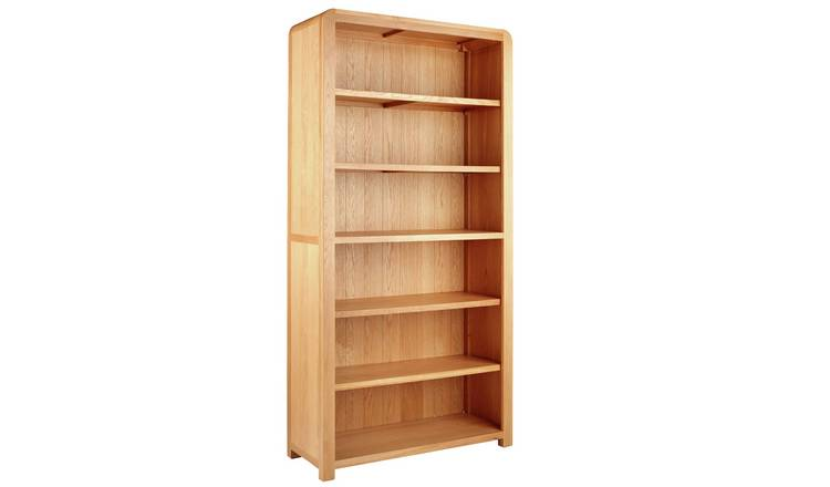 Argos Home Novara 5 Shelf Tall Oak Veneer Bookcase