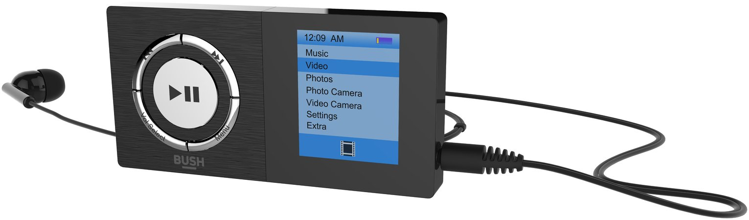 Image of Bush 8GB MP3 Player with Camera - Black