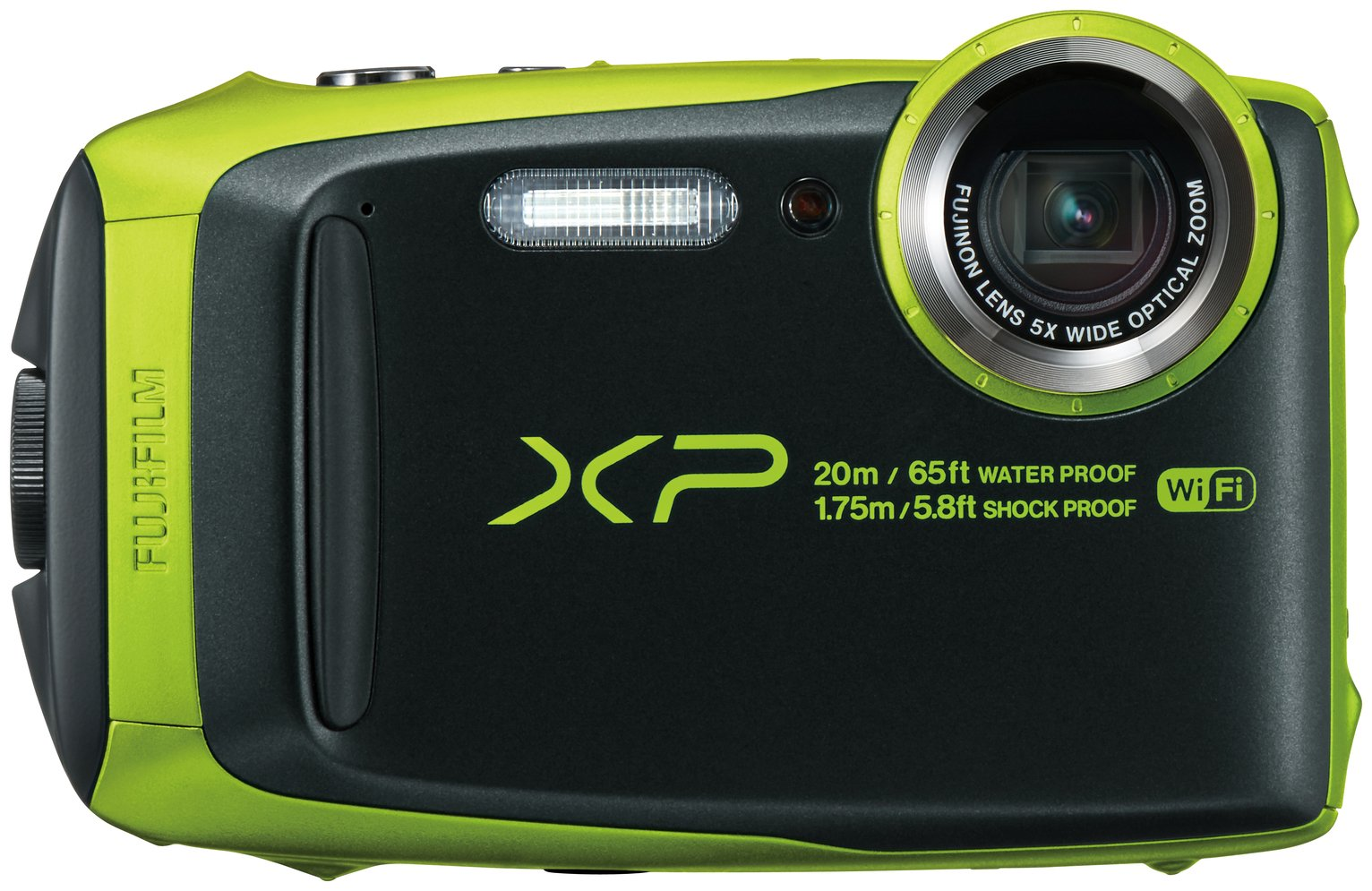Image of Fujifilm Finepix XP120 Camera - Lime Green