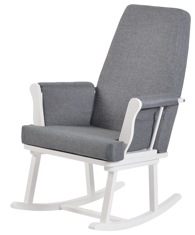KUB Haldon Rocking Chair - White