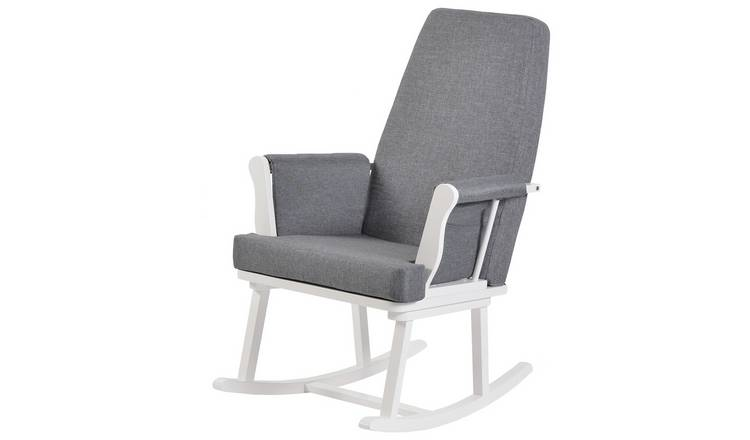 Excellent Buy Kub Haldon Rocking Chair White Nursing Chairs And Footstools Argos Cjindustries Chair Design For Home Cjindustriesco