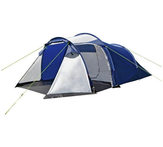 buy trespass 4 man 1 room tent tents argos