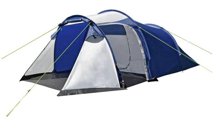 b588bc9f5 Buy Trespass 4 Man 1 Room Tunnel Camping Tent | Tents | Argos
