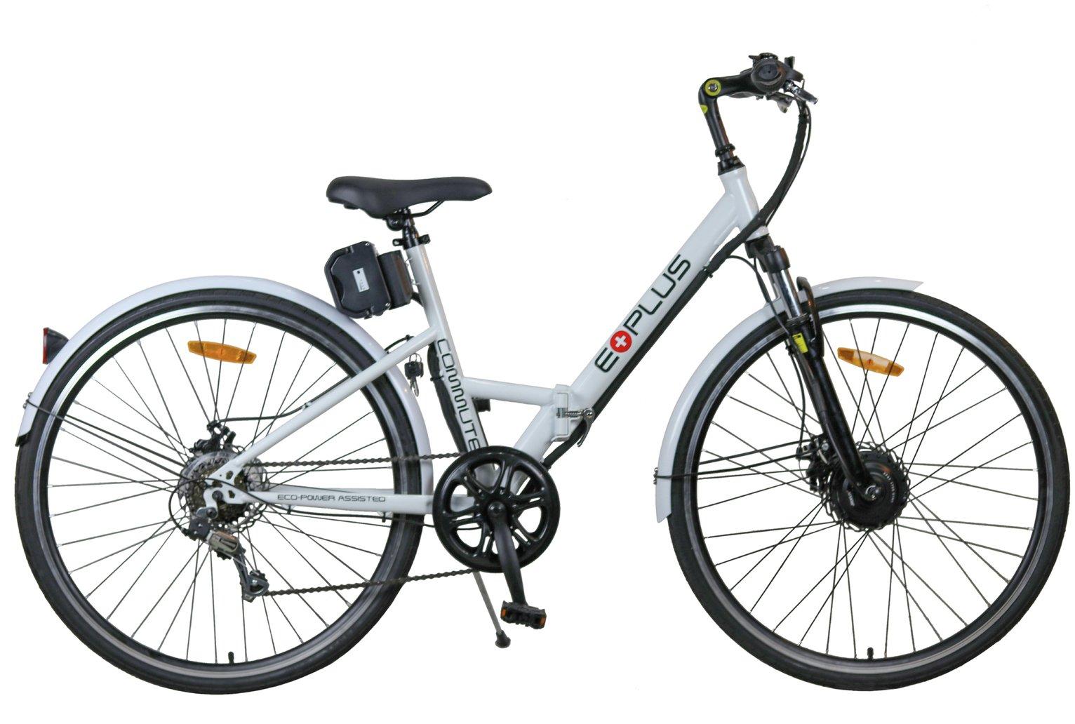 review of e plus 700c electric hybrid bike. Black Bedroom Furniture Sets. Home Design Ideas