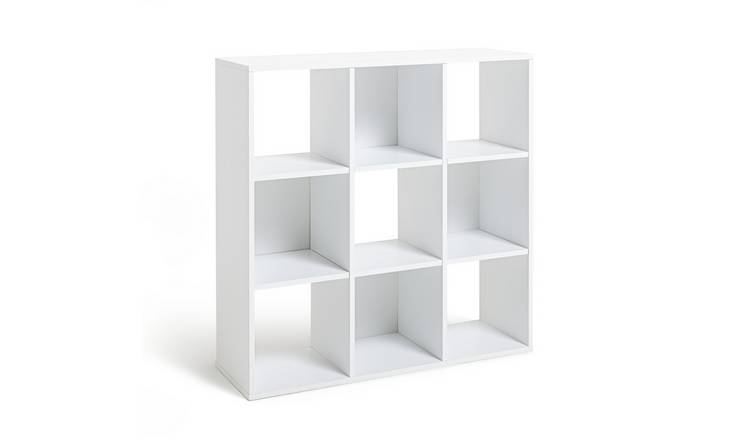 Habitat Squares 9 Cube Storage Unit - White