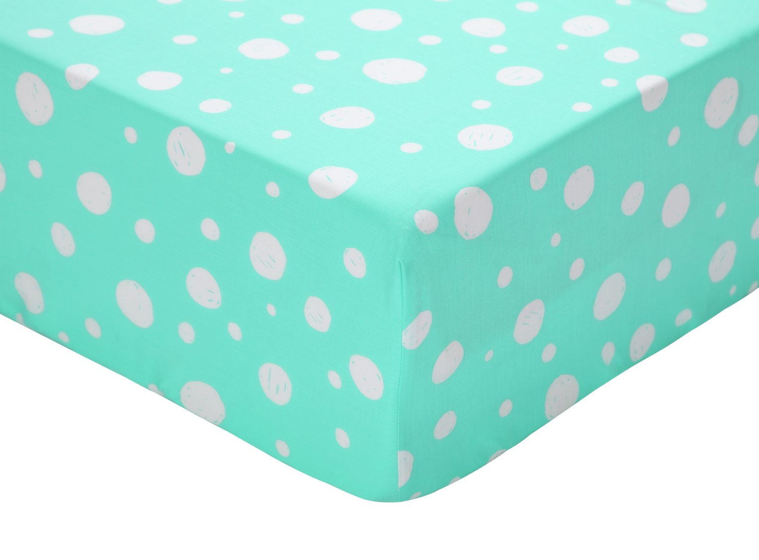 Toddler Argos Home Bubble Print Fitted Sheet