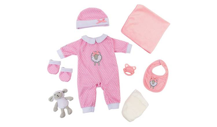Tiny Treasures Layette Pink Gift Set