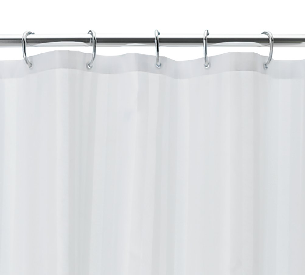 Argos Home Multi-way Shower Curtain and Rail Set - Chrome
