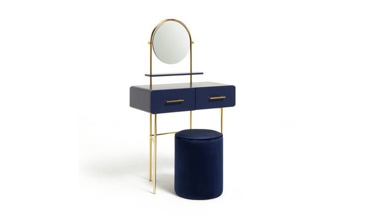 Argos Home Wilderness Dressing Table & Stool