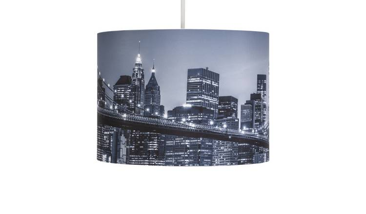 Argos Home New York Print Shade