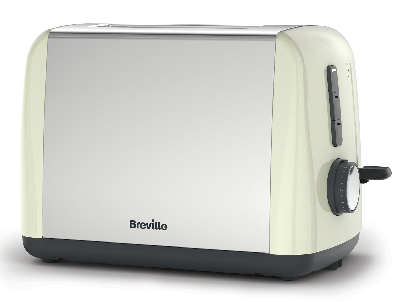 Breville ITT990 Stainless Steel 2 Slice Toaster - Cream
