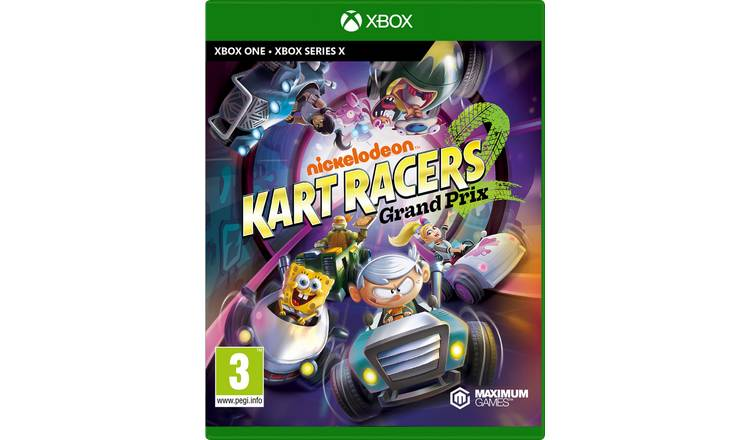 Nickelodeon Kart Racers 2 Grand Prix Xbox One Game