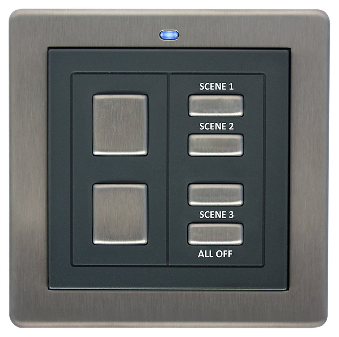 Lightwave RF Scene Selector Switch - Stainless Steel