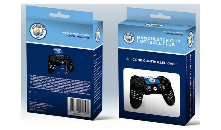 Official Manchester City Silicone PS4 Controller Case