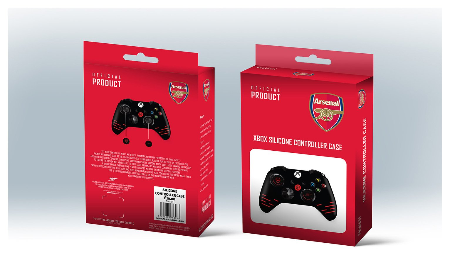 Official Arsenal Silicone Xbox One Controller Case
