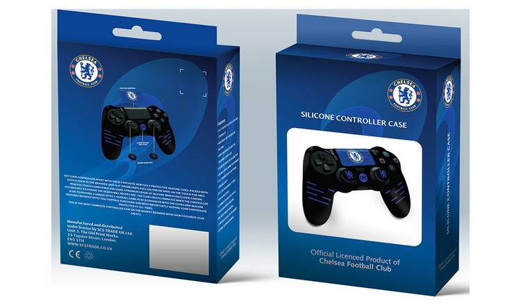 Official Chelsea Silicone PS4 Controller Case