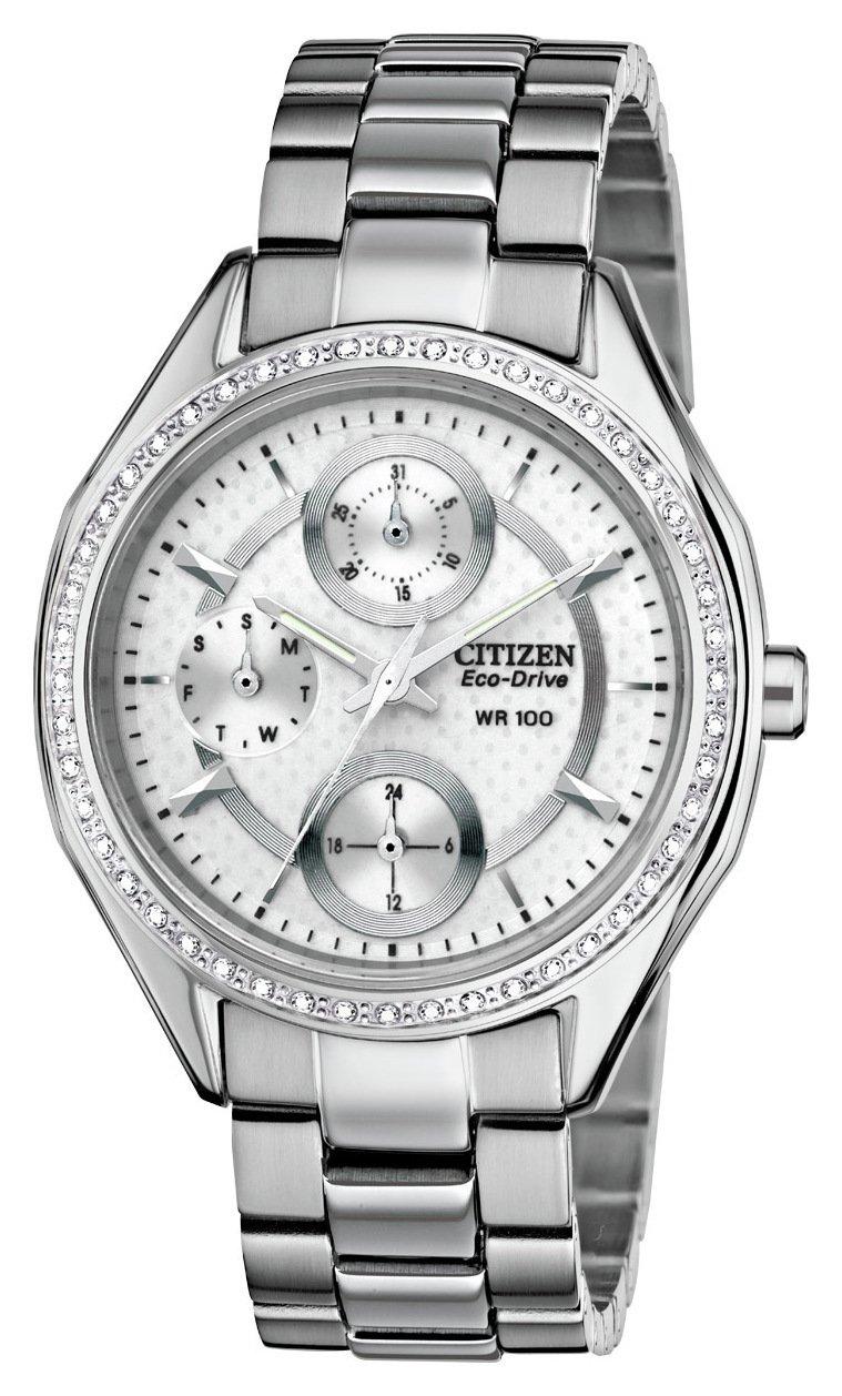 Image of Citizen Ladies' Multi Dial Stone Set Bracelet Watch