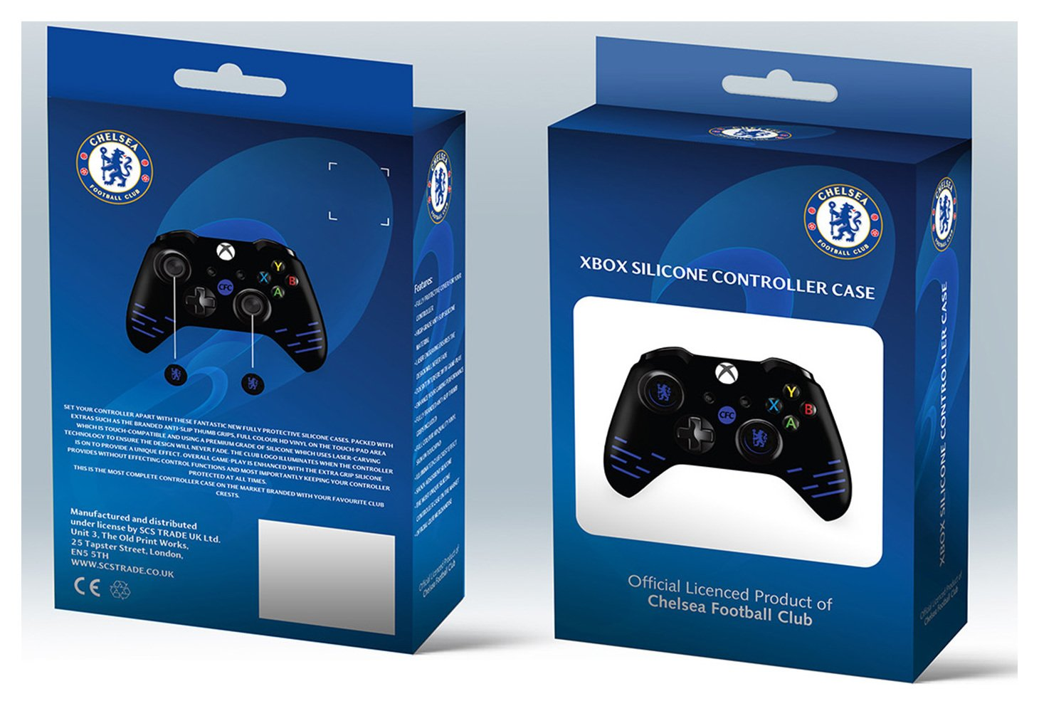 Image of Official Chelsea Silicone Xbox One Controller Case