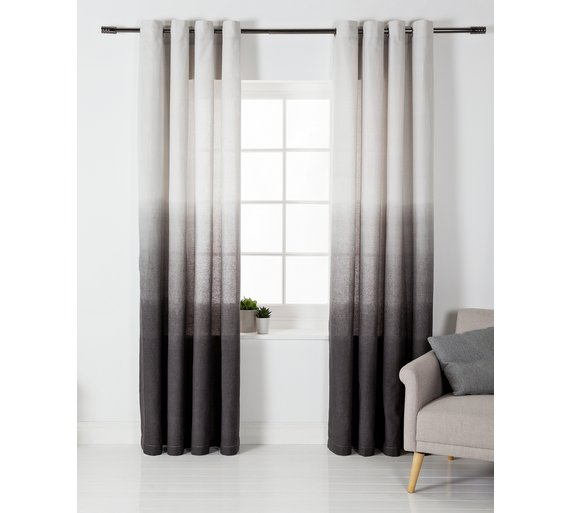 Buy Argos Home Ombre Unlined Eyelet Curtains