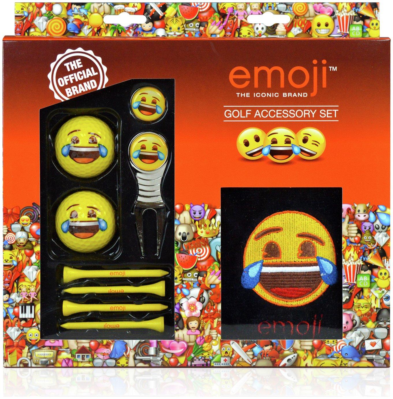 Image of Emoji Golf Laughing Gift Set