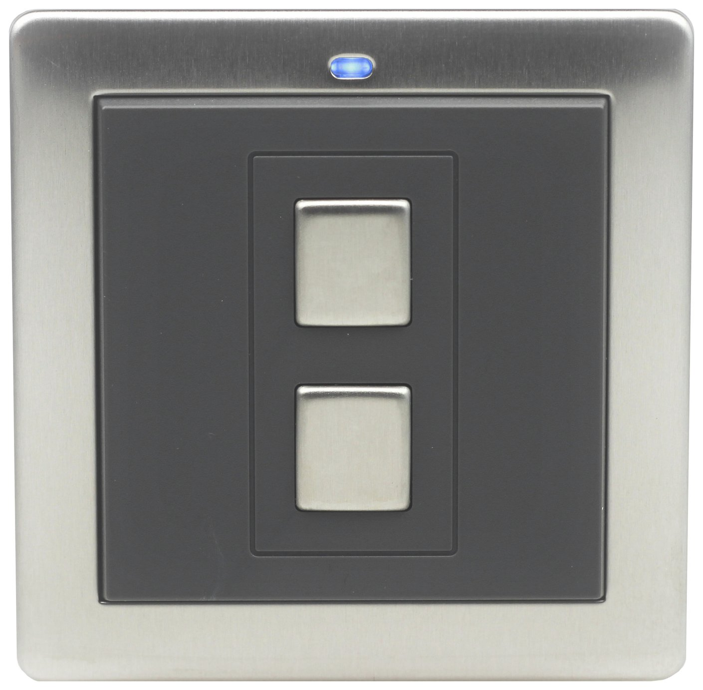 Lightwave RF 1 Gang Switch - Stainless Steel