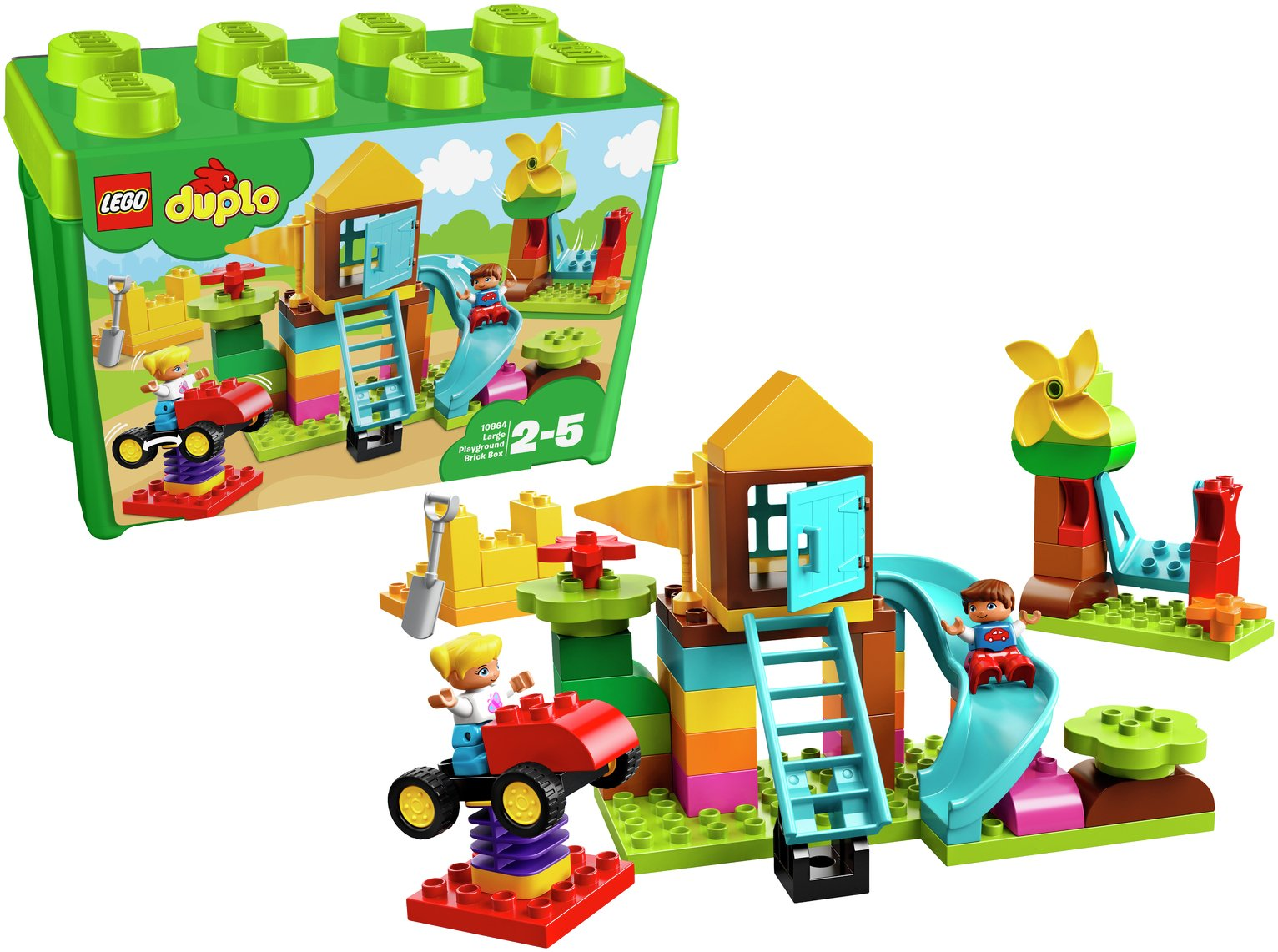 LEGO DUPLO My First Large Playground Brick Box Toy - 10864