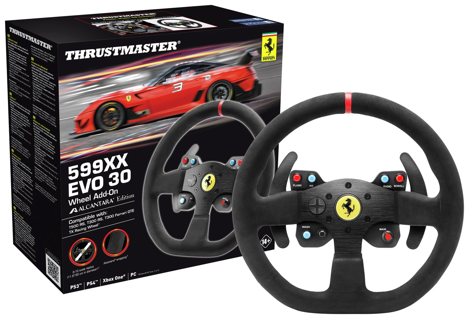 Image of Thrustmaster 599XXEVO30 Steering Wheel Add-On
