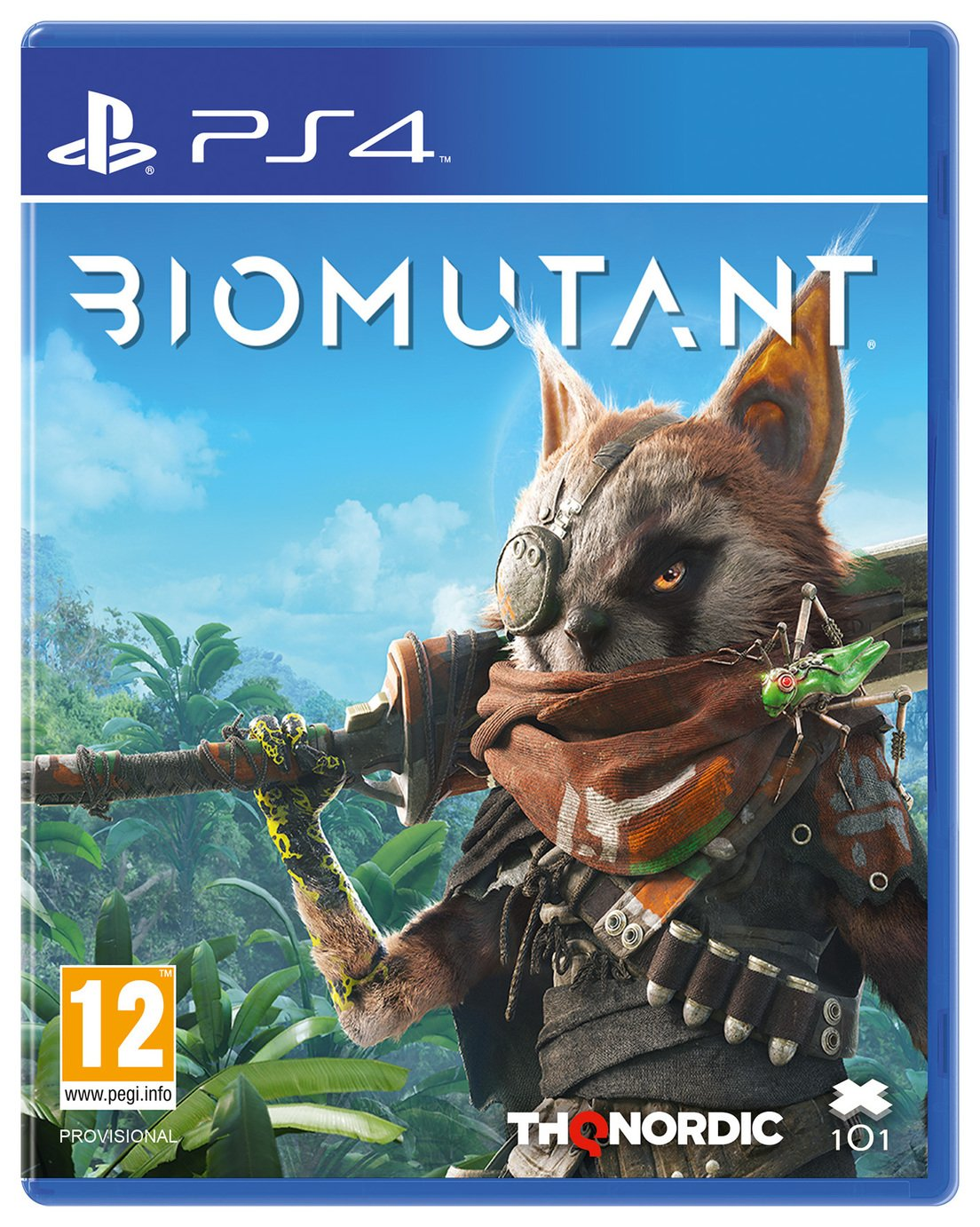 Image of Biomutant PS4 Game