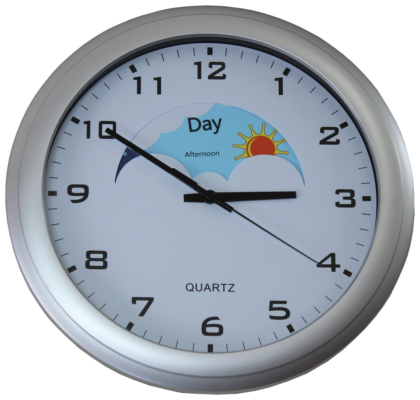 Ravencourt Sun and Moon Analogue Clock
