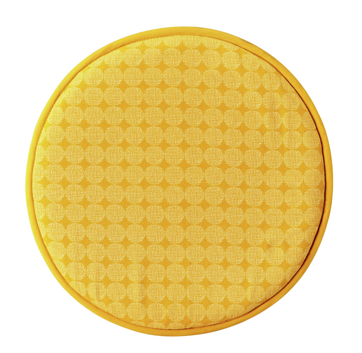Sainsbury's Home Set of 2 Chair Pads - Yellow