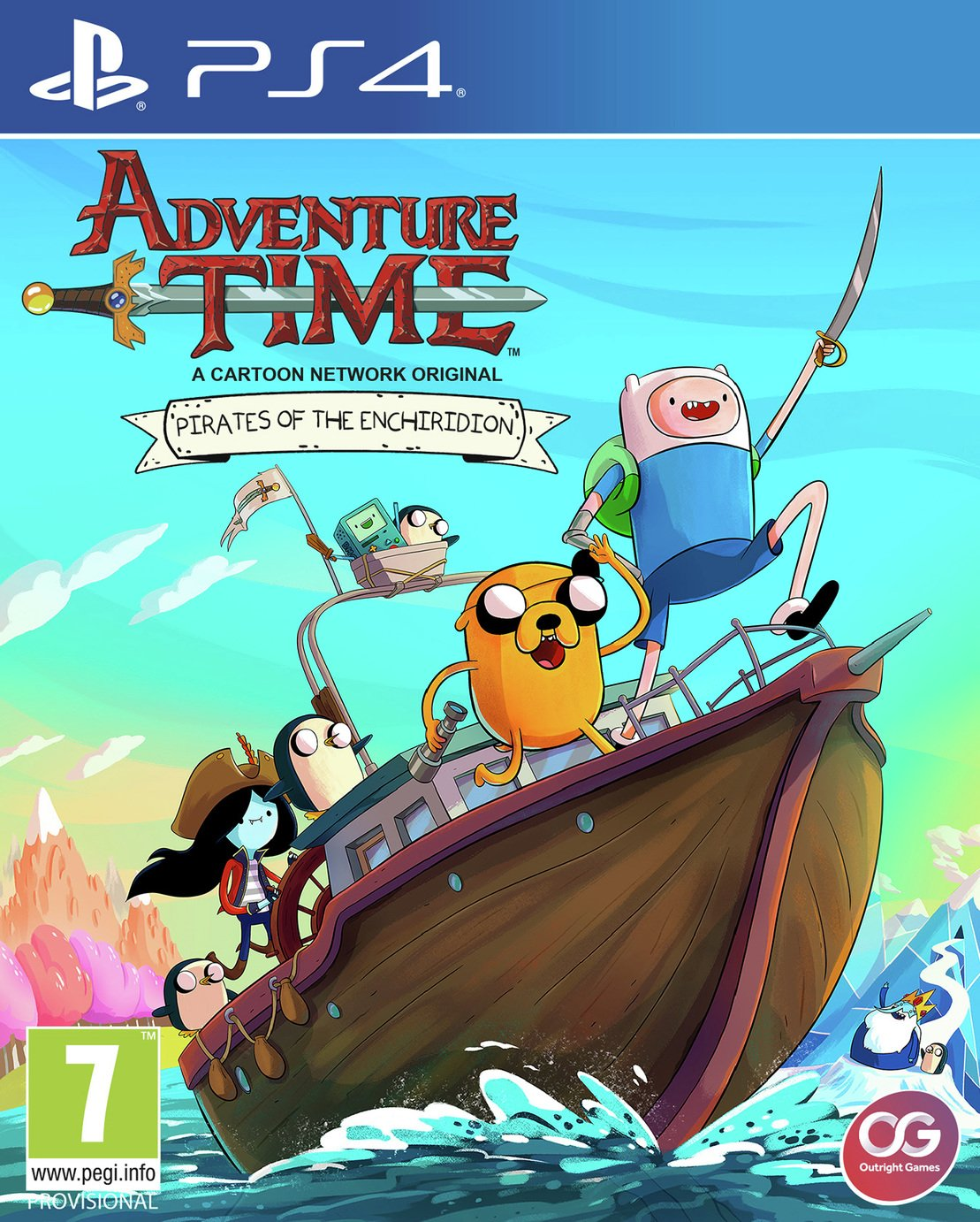 Image of Adventure Time Pirates of The Enchiridion PS4 Pre-Order Game