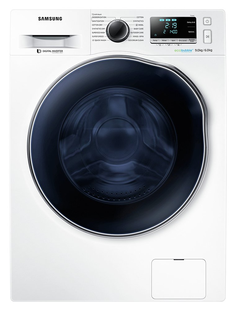 Image of Samsung WD90J6A10AW 9KG 1400 Spin Washing Machine - White