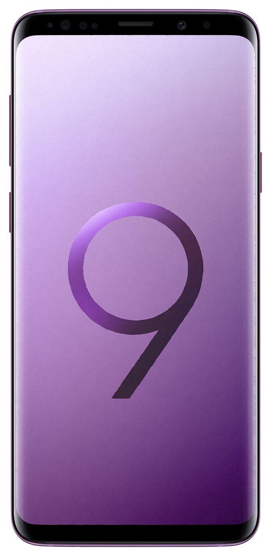 Samsung Sim Free Samsung Galaxy S9+ 128GB Mobile Phone- Lilac Purple