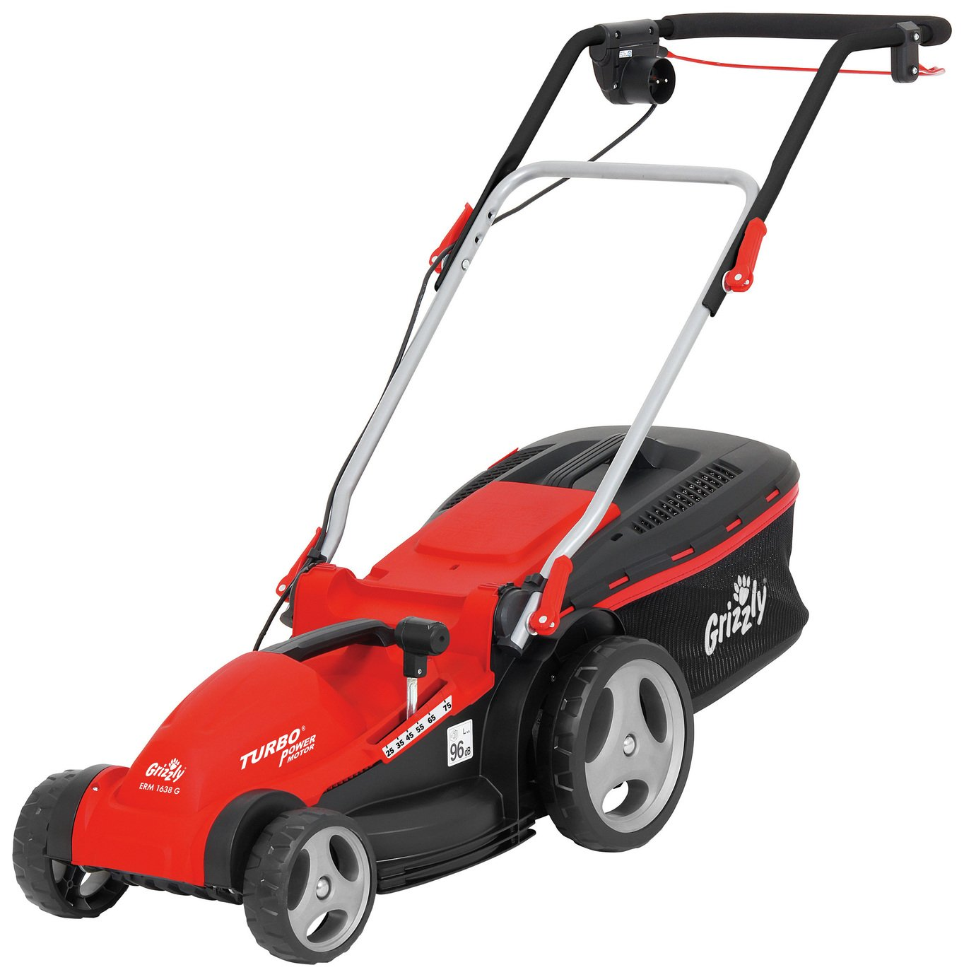 Image of Grizzly Tools Electric Rotary Deluxe Lawnmower - 1600W