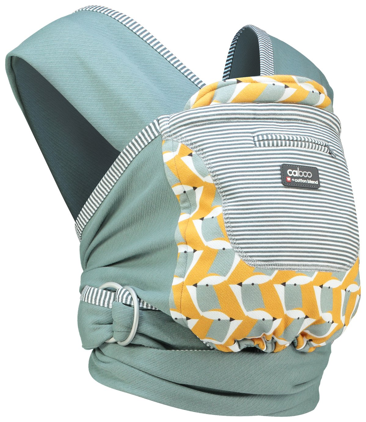 Caboo + Cotton Blend Ava Baby Carrier