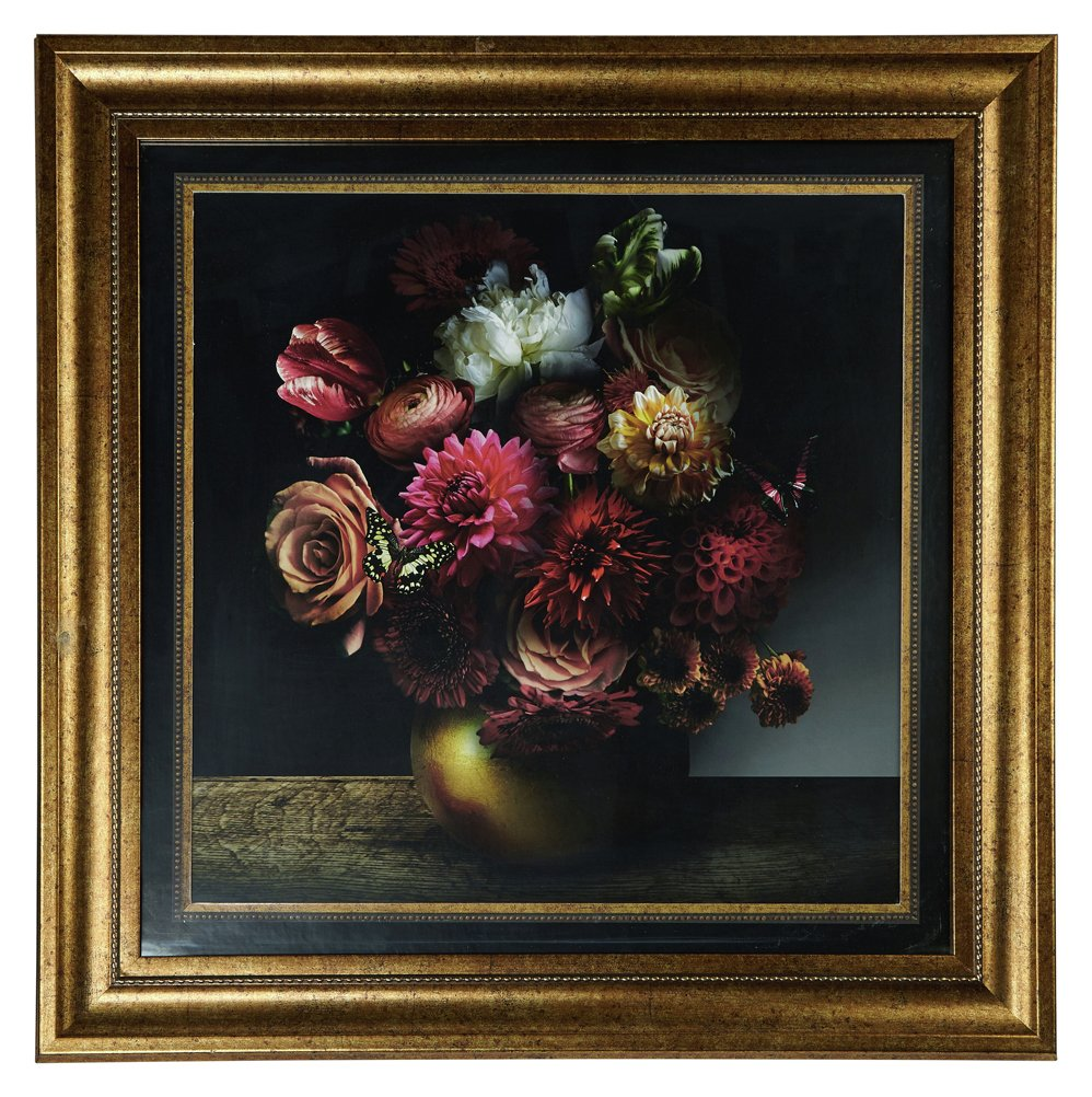 Image of Arthouse Alchemy Bouquet Framed Print