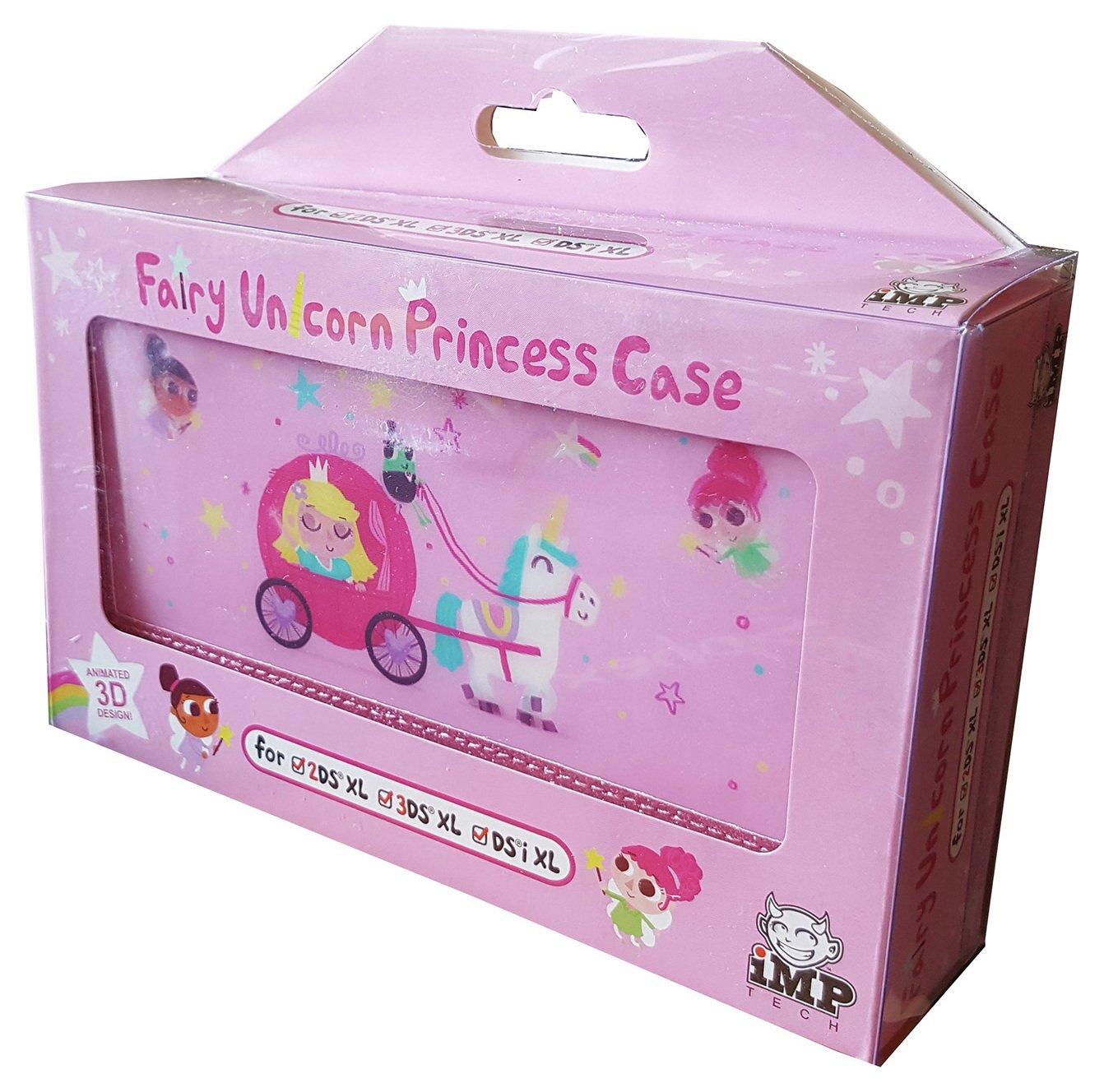 Image of Fairy Unicorn Princess Nintendo 3DS XL, 2DS XL Case