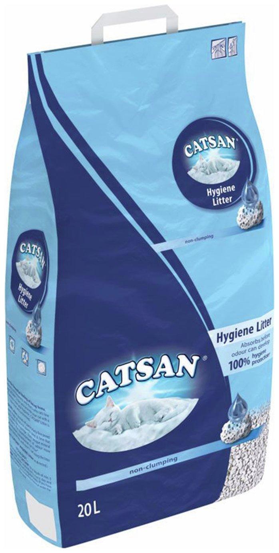 Image of Catsan Hygiene Non Clumping Cat Litter - 20L