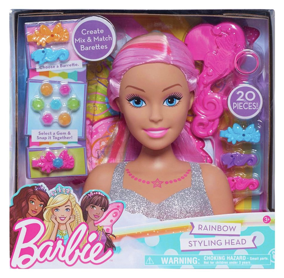 Barbie Dreamtopia Rainbow Styling Head