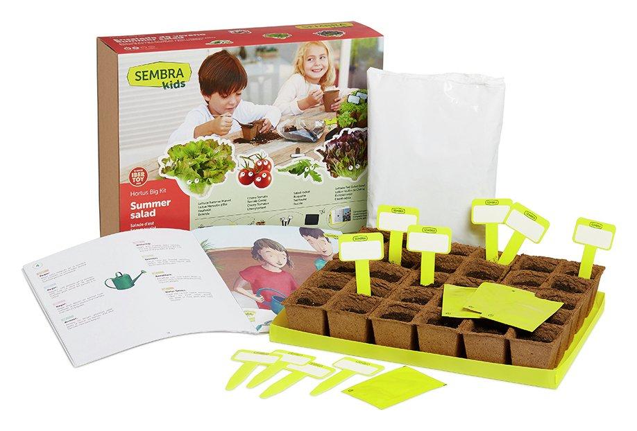 Sembra Summer Salad Garden Growing Play Kit
