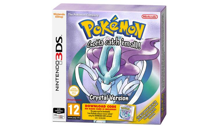 Buy Pokemon Crystal Nintendo 3DS Game | Nintendo 2DS, 2DS XL and 3DS games  | Argos
