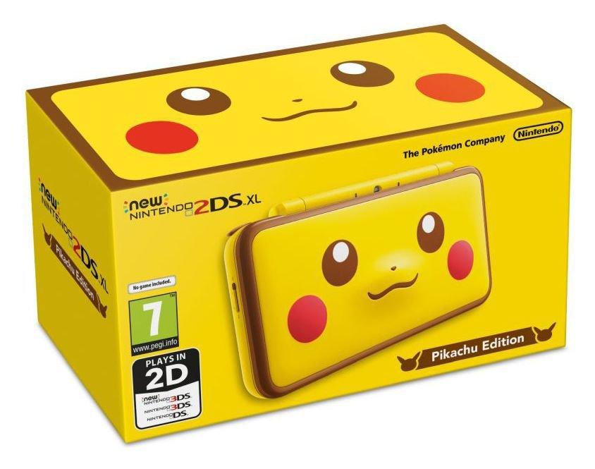 New Nintendo 2DS XL Pokemon Pikachu Edition Console