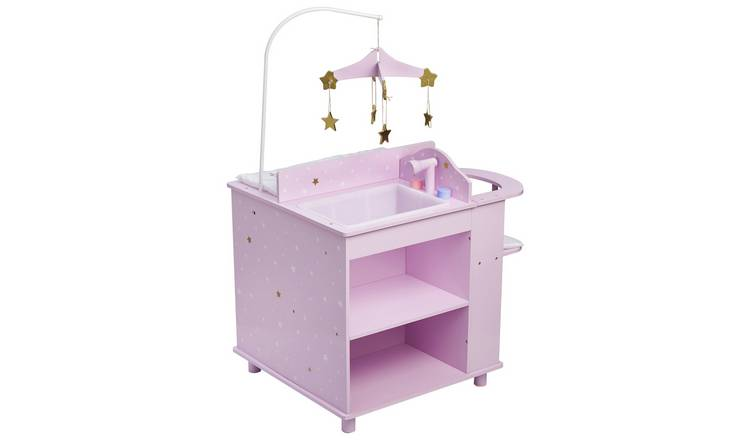 Olivia's Little World Doll Changing Station - Purple
